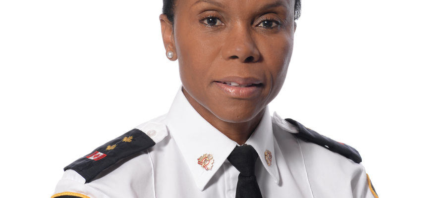 Highest ranking black female police officer in Canada is Guelph grad Ingrid Berkeley-Brown.