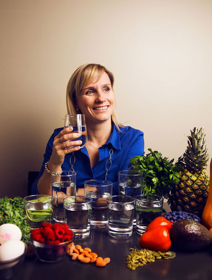 Sports nutritionist Jennifer Sygo, food fact or fiction.