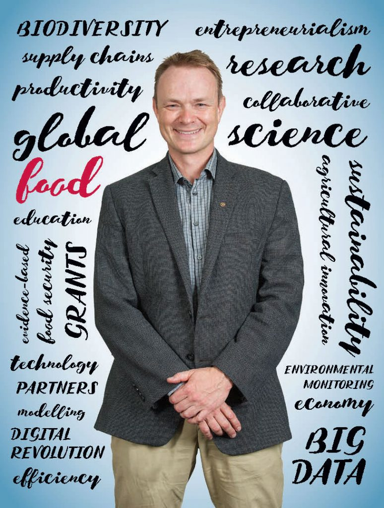 The Unviersity of Guelph's Evan Fraser talks about the global food crisis in Portico Magazine.