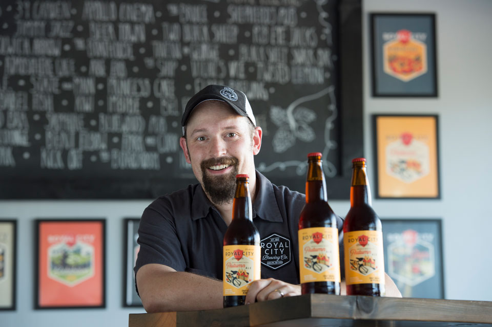 Cameron Fryer started Royal City Brewing in Guelph, Ontario.