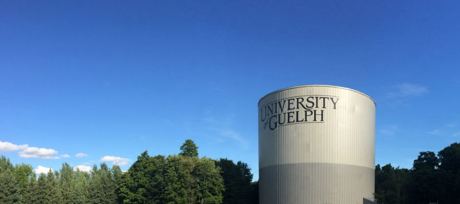 Energy savings with thermal enery tank at the University of Guelph.