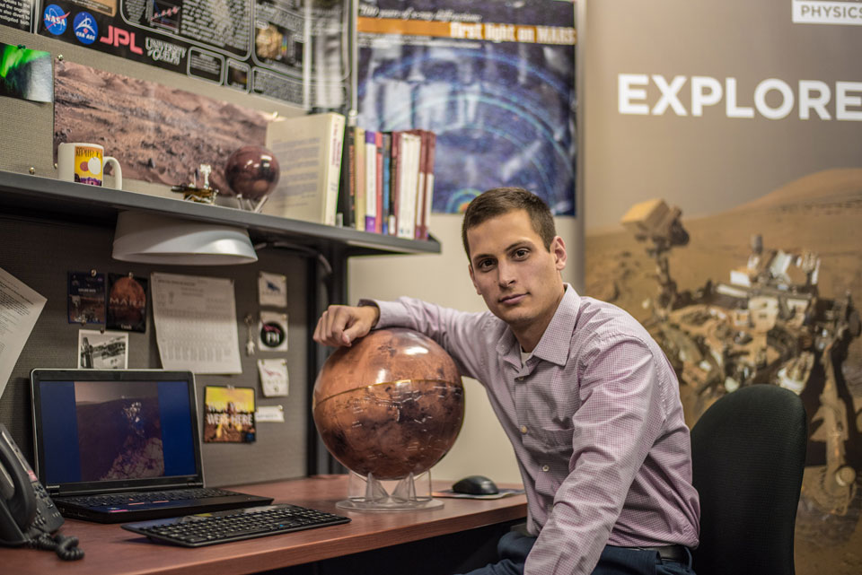Astronaut candidate and Guelph student Scott VanBommel