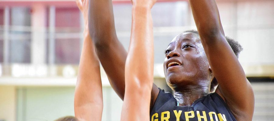 Nyasha Mombeshora is a second-year guard on the Gryphon women's basketball team.