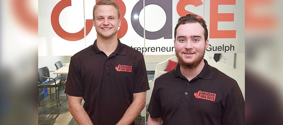 Student entrepreneurs score backing from Dragons' Den investor