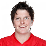 Portrait of Canadian women's rugby star