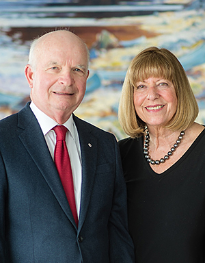 Anne and Tony Arrell