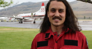 Grad Bryce Moreira has used his skills in physics to coordinate wildfire fighting operations in B.C.