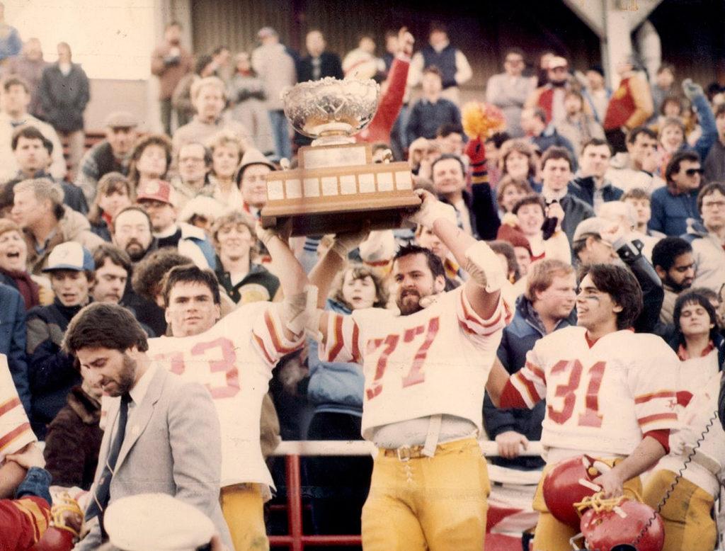 1984 Gryphons Win Vanier
