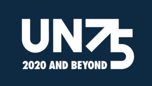 UN 75th Anniversary logo