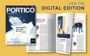 View the digital edition of the Fall 2020 Portico Magazine