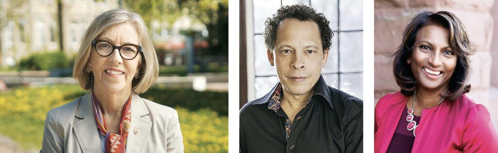 Charlotte Yates; Lawrence Hill; Indira Naidoo-Harris