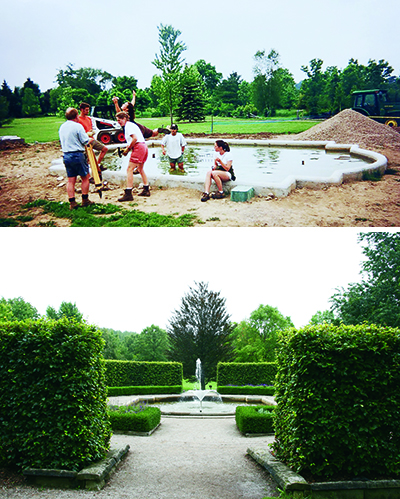 the arboretum, then and now