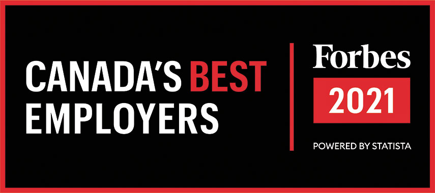 Canada's Best Employees - Forbes 2021