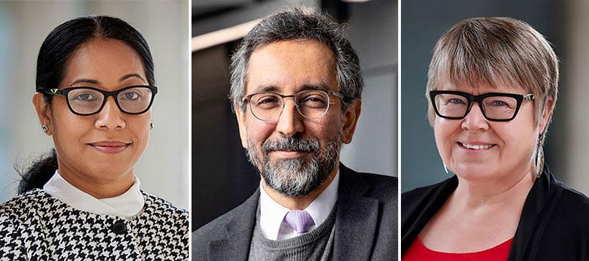 Sharmilla Rasheed, Dr. Mazyar Fallah, Dr. Gwen Chapman