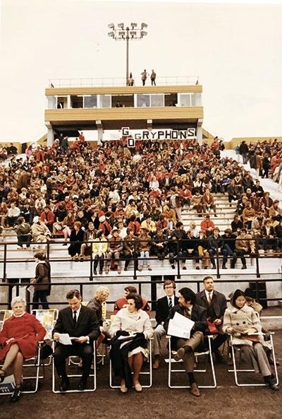 Stadium Early Days